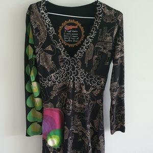 Unique hippy style Desigual Dress